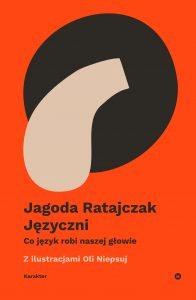 """książka Jagody Ratajczak """"Języczni"""""""